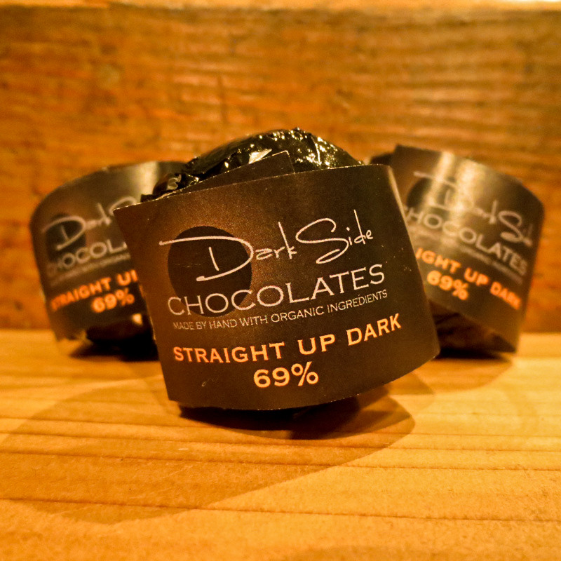 Hot Chocolate Bombs Dark Side Chocolates